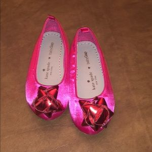 kate spade Shoes - Kate Spade for BabyGap bow flats size 7